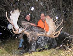 moose-hunting